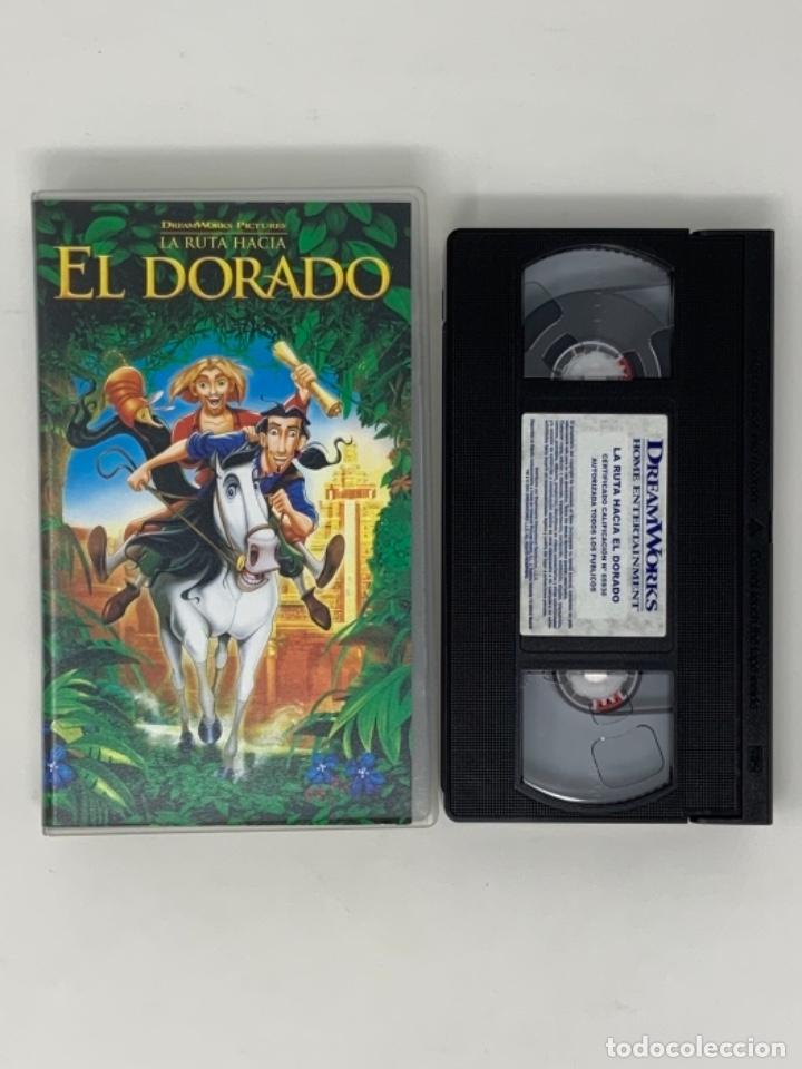 LA RUTA HACIA EL DORADO DREAMWORKS PICTURES VHS (Cine - Películas - VHS)