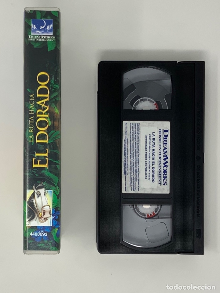Cine: LA RUTA HACIA EL DORADO DREAMWORKS PICTURES VHS - Foto 3 - 181071997