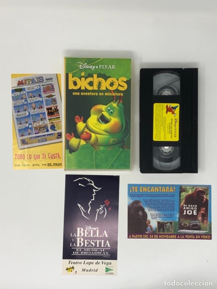 WALT DISNEY PIXAR BICHOS UNA AVENTURA EN MINIATURA VHS (Cine - Películas - VHS)