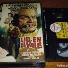 Cine: LIO EN EL VALLE - ORSON WELLES - VHS - VIDEOTECHNICS. Lote 181208395