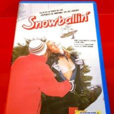 Cine: SNOWBALLING (1984) - BOLAS DE NIEVE - MUY DESCATALOGADA. Lote 181533598