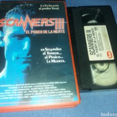 Cine: SCANNERS 3- VHS. Lote 181607157