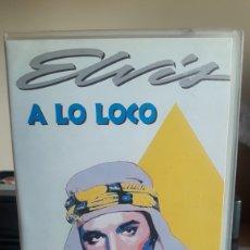 Cine: A LO LOCO VHS ELVIS PRESLEY. Lote 181693536
