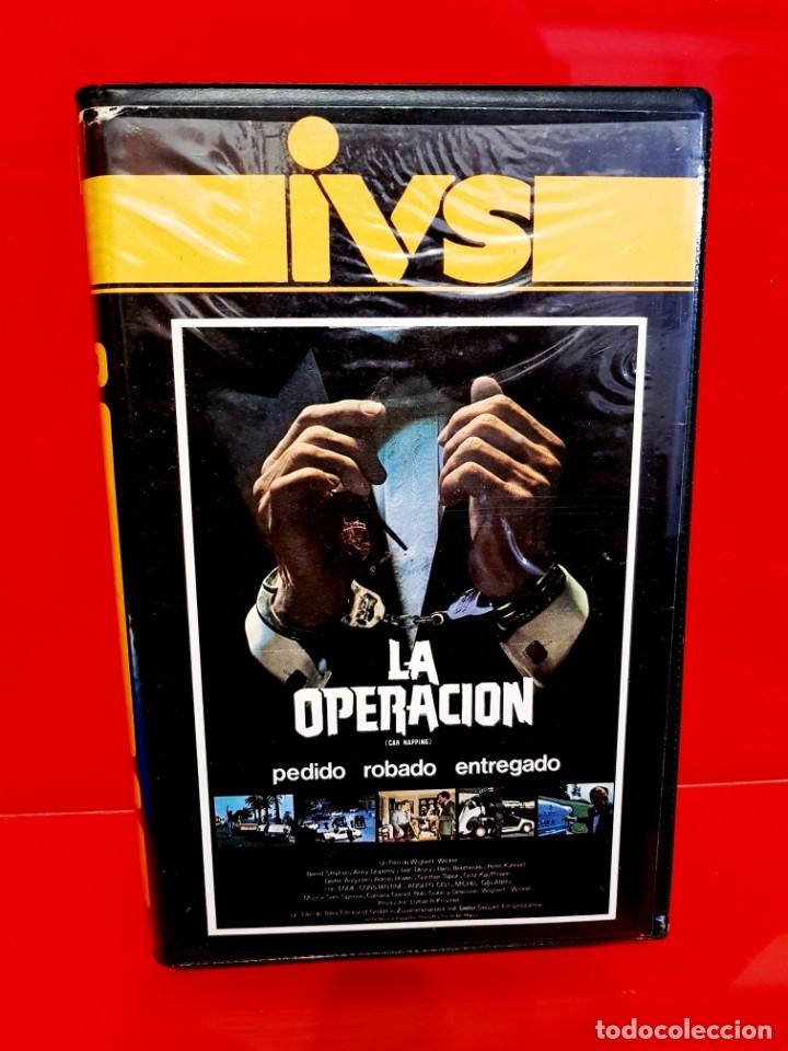 LA OPERACION (1980) - CAR NAPPING: BESTELLT, GEKLAUT, GELIEFERT (Cine - Películas - VHS)