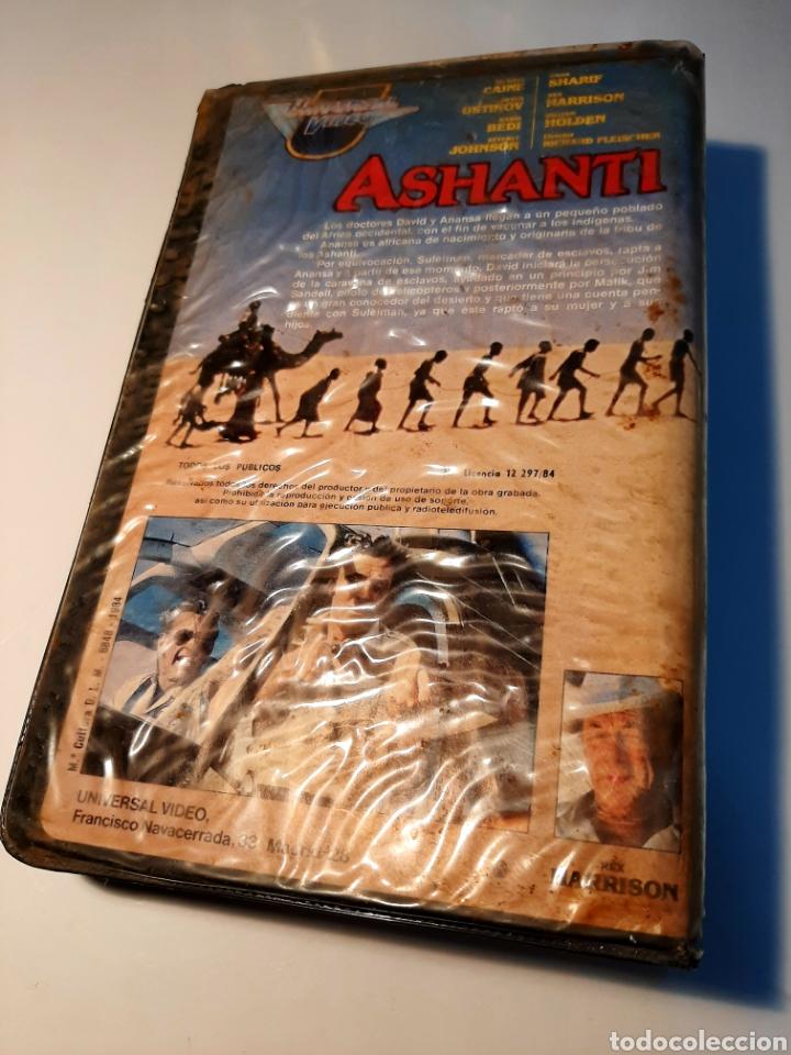 Cine: Ashanti VHS - RICHARD FLEISCHER - MICHAEL CAINE - OMAR SHARIF - Foto 2 - 182052113
