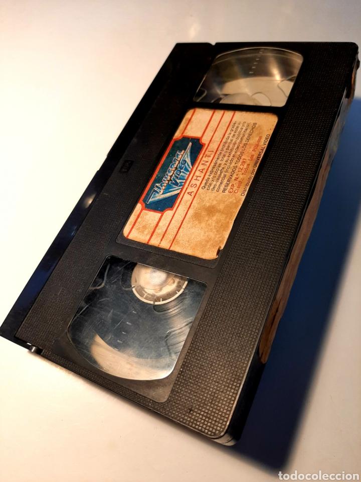 Cine: Ashanti VHS - RICHARD FLEISCHER - MICHAEL CAINE - OMAR SHARIF - Foto 3 - 182052113