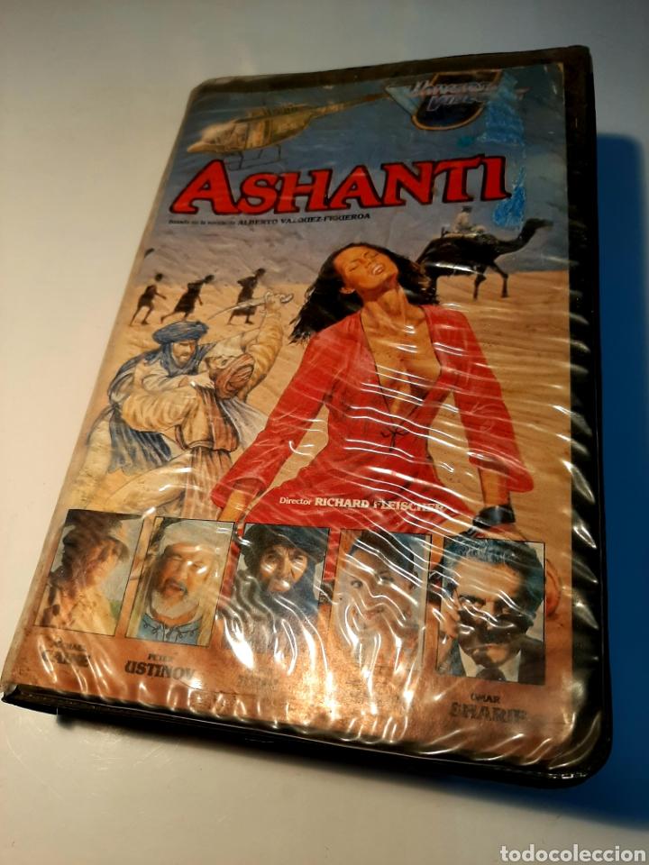ASHANTI VHS - RICHARD FLEISCHER - MICHAEL CAINE - OMAR SHARIF (Cine - Películas - VHS)