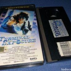 Cine: TERMINAL EXPOSURE- VHS- NICO MASTORAKIS- SEX COMEDY. Lote 100338971