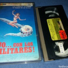 Cine: JO...CON LOS MILITARES- VHS- SEX COMEDY- UP THE MILITARY 1983. Lote 102378112