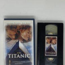 Cine: PELÍCULA VHS TITANIC. Lote 182195310