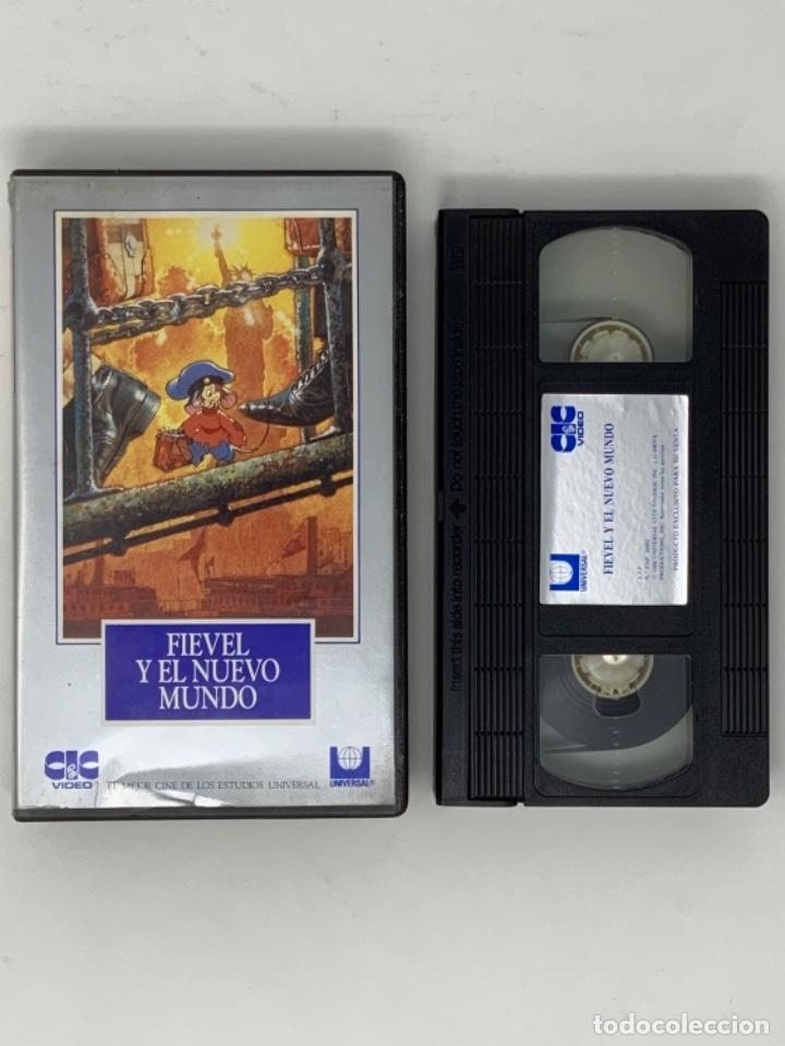 PELÍCULA VHS FIEVEL Y EL NUEVO MUNDO (Cine - Películas - VHS)