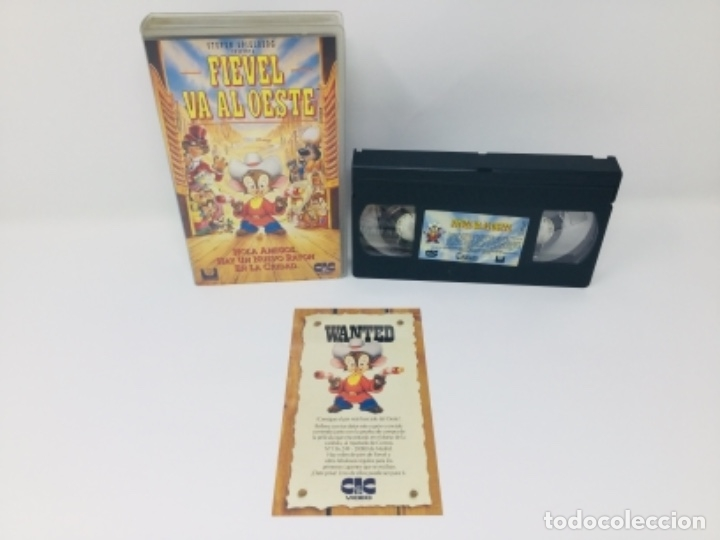 PELÍCULA VHS FIEVEL VA AL OESTE (Cine - Películas - VHS)