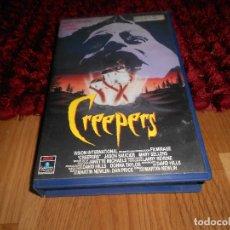 Cine: CREEPERS VHS (TROLL 3) - RAREZA TOTAL DE SERIE B UNICA EN TODOCOLECCION. Lote 182312688