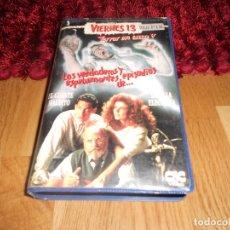 Cine: VHS • VIERNES 13: TERROR EN CASA V (FRIDAY THE 13TH: THE SERIES, 1987) [CIC - TERROR]. Lote 182327862