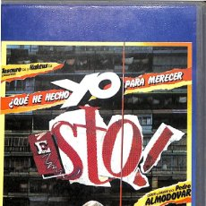 Cine: VHS QUE HE HECHO YO PARA MERECER ESTO - PEDRO ALMODOVAR. Lote 195657733