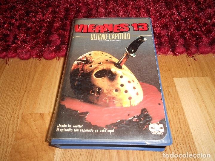 VIERNES 13 PARTE 4: ULTIMO CAPITULO 19841ª EDICIÓN DE VIDEOCLUB CARATULA GORDA CIC VIDEO MUY RARA (Cine - Películas - VHS)