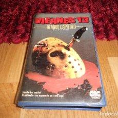 Cine: VIERNES 13 PARTE 4: ULTIMO CAPITULO 19841ª EDICIÓN DE VIDEOCLUB CARATULA GORDA CIC VIDEO MUY RARA. Lote 182349768