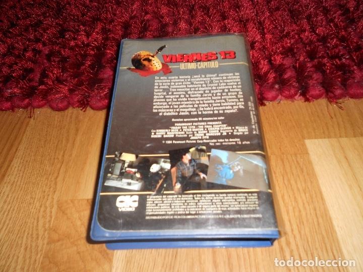 Cine: VIERNES 13 PARTE 4: ULTIMO CAPITULO 19841ª EDICIÓN DE VIDEOCLUB CARATULA GORDA CIC VIDEO MUY RARA - Foto 3 - 182349768