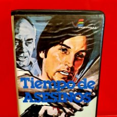 Cine: TIEMPO DE ASESINOS (1975) - MARCELLO ANDREI JOE DALLESANDRO - 1ª EDICIÓN VIDEOESPAÑA. Lote 182433552