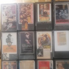 Cine: 24 FILMS. 12 CINTAS VHS A.HITCHCOCK. Lote 182493332