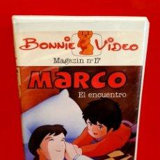 Cine: MARCO ... EL ENCUENTRO - BONNIE VIDEO (DIBUJOS DE LA INFANCIA). Lote 182547373