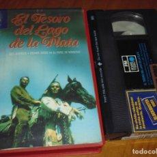Cine: EL TESORO DEL LAGO DE LA PLATA - VHS. Lote 182608126