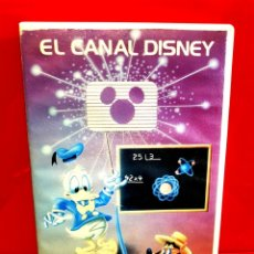 Cine: EL CANAL DISNEY - VOL. 4 - 1ª EDICIÓN WALT DISNEY. Lote 182662775