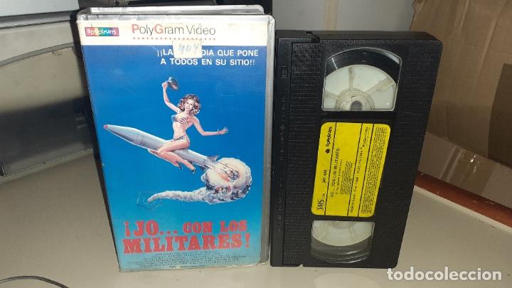 VHS JO...CON LOS MILITARES - SEX COMEDY - UP THE MILITARY (Cine - Películas - VHS)