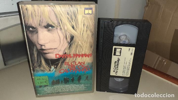 VHS EL CLAN DEL OSO CAVERNARIO - DARYL HANNAH (Cine - Películas - VHS)