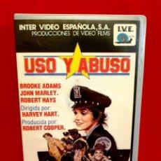 Cine: USO Y ABUSO- BROOKE ADAMS (EDICIÓN I.V.E). Lote 182737026