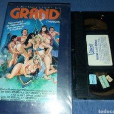 Cine: PENSAR A LO GRANDE- VHS- SEX COMEDY. Lote 182763586