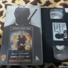 Cine: VHS- DIAMANTES PARA LA ETERNIDAD- SEAN CONNERY- JAMES BOND. Lote 182789306