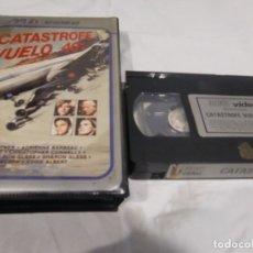 Cine: VHS ORIGINAL / CATASTROFE VUELO 401. Lote 182881258