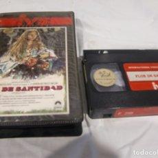 Cine: VHS ORIGINAL / FLOR DE SANTIDAD. Lote 182882303