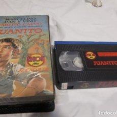 Cine: VHS ORIGINAL / JUANITO. Lote 182884313