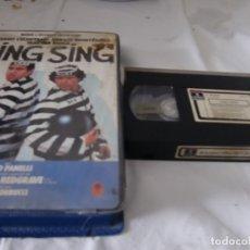 Cine: VHS ORIGINAL / SING SING. Lote 182885987