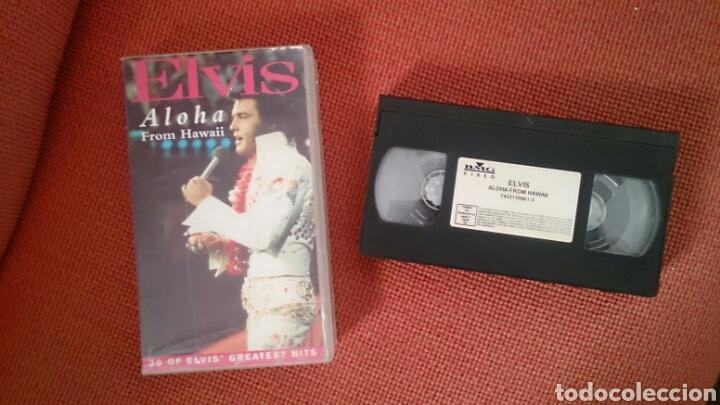 ELVIS PRESLEY VHS ALOHA FROM HAWAII 1991 (Cine - Películas - VHS)