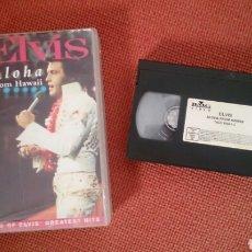 Cine: ELVIS PRESLEY VHS ALOHA FROM HAWAII 1991. Lote 182987251