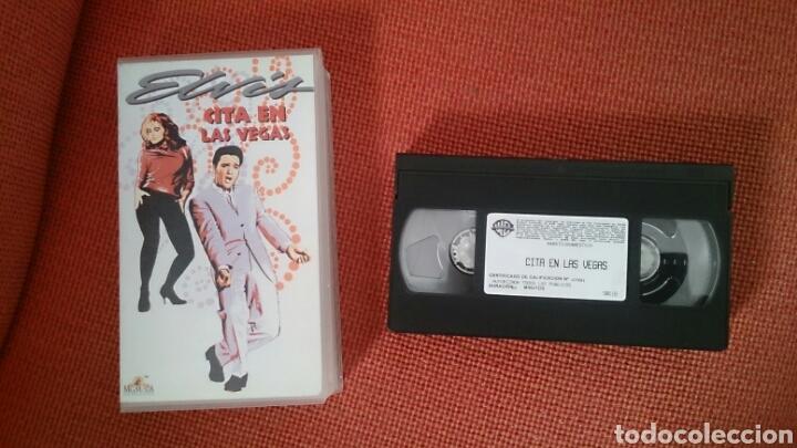 ELVIS PRESLEY PELICULS VHS CITS EN LAS VEGAS MGM 1963 1998 VIVA LAS VEGAS (Cine - Películas - VHS)