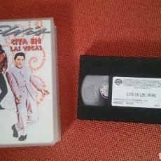 Cine: ELVIS PRESLEY PELICULS VHS CITS EN LAS VEGAS MGM 1963 1998 VIVA LAS VEGAS. Lote 182987841