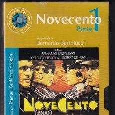 Cine: NOVECENTO PARTE 1 - BERNARDO BERTOLUCCI / NUEVA. Lote 183095163