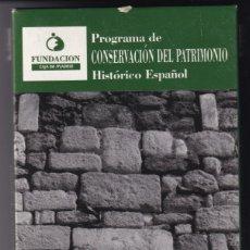 Cine: PROGRAMA DE CONSERVACIÓN DEL PATRIMONIO HISTÓRICO ESPAÑOL - FUNDACIÓN CAJA DE MADRID. Lote 183095571