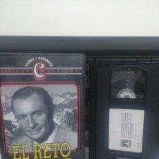 Cine: EL RETO. VHS. Lote 183308652