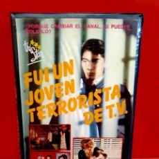 Cine: FUI UN JOVEN TERRORISTA DE T.V - ADAM NATHAN - JULIE HANLON. Lote 183341581