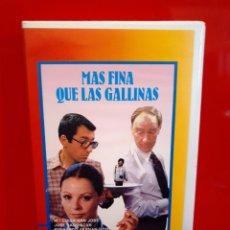 Cine: MAS FINA QUE LAS GALLINAS - JESUS YAGUE, JOSE SACRISTAN , M LUISA SAN JOSE. Lote 183342898