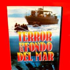Cine: TERROR EN EL FONDO DEL MAR - VIRGINIA L. STONE (TOPACION HOME VIDEO). Lote 183343817