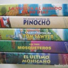 Cine: LOTE 5 VHS CUENTOS CLÁSICOS. Lote 183352905