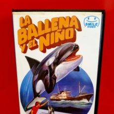 Cine: LA BALLENA Y EL NIÑO - WILLIAM SHATNER, MARY ALLEN. Lote 183441936