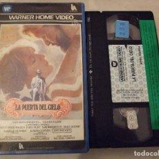 Cine: LA PUERTA DEL CIELO - MICHAEL CIMINO - KRIS KRISTOFFERSON , JOHN HURT - WARNER 1984. Lote 183595310
