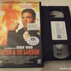Cine: MATAR A UN LADRON - JOHN WOO - SANDRINE HOLT , IVAN SERGEI , NICHOLAS LEA - FILMAX 1997. Lote 183595908